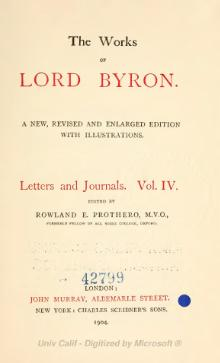 The Works of Lord Byron (ed. Coleridge, Prothero) - Volume 11.djvu