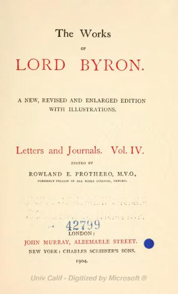 File:The Works of Lord Byron (ed. Coleridge, Prothero) - Volume 11.djvu