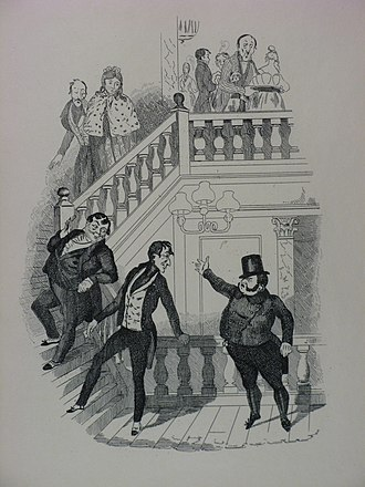 Robert Seymour (illustrator) - Dr. Slammer's Defiance of Jingle