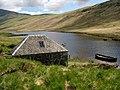 The boathouse on Loch Iorsa - geograph.org.uk - 447094.jpg