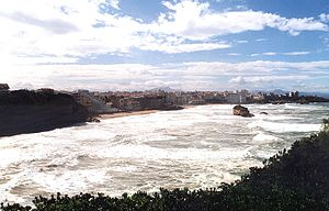 Biarritz - The Cape of Biarritz.