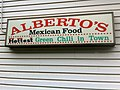 The green chili was hot! Albertos, in Greeley, CO (5917627158).jpg