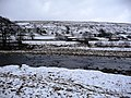 The snowy banks of the Swale - geograph.org.uk - 1727786.jpg