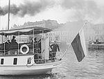 """The steam ship """"Nyländska Skärgården"""" outside the South harbor in Helsinki.jpg"""