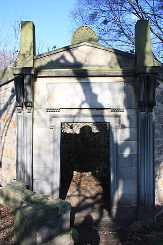 William Miller, Lord Glenlee - The tomb of Sir William Miller, Lord Glenlee, New Calton Burial Ground