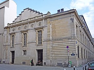 Georges Bizet - Part of the Paris Conservatoire, where Bizet studied from 1848 to 1857 (photographed in 2009)