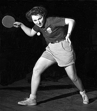 """Thelma Thall - Image: Thelma Thall """"Tybie"""" Sommer Forehand Slice"""