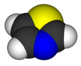 image illustrative de l'article Thiazole (molécule)