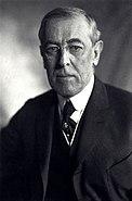 Thomas Woodrow Wilson, Harris & Ewing bw photo portrait, 1919