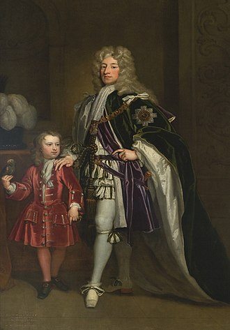 Thomas Erskine, Lord Erskine - Thomas Erskine (left) could not inherit the title of Earl of Mar due to the Writ of Attainder for treason passed against his father, John (right).