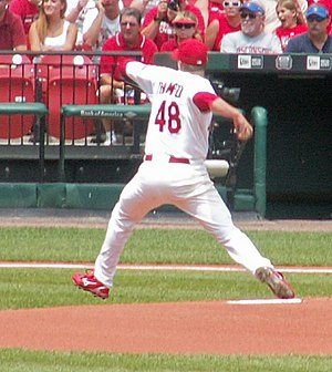 Brad Thompson - Thompson with the St. Louis Cardinals