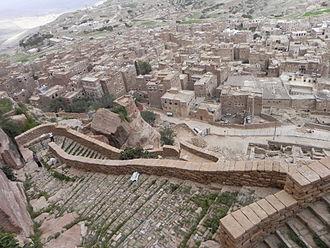Thula - Image: Thula fortification steps