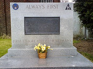 Thurleigh - Thurleigh WWII USA Memorial – geograph.org.uk – 386824