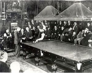 Thurston's Hall -  Billiards - Walter Lindrum v Tom Newman