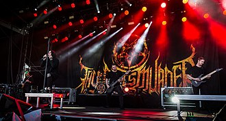 Thy Art Is Murder - Thy Art Is Murder performing at Rock am Ring in 2018