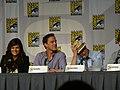 Tiffani Thiessen, Tim DeKay & Matt Bomer (4847875206).jpg