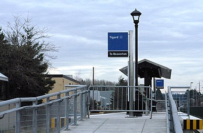 How to get to Tigard Transit Center with public transit - About the place