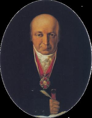 Alexander Andreyevich Baranov - Image: Tikhanov Alexandr Andreyevich Baranov (1818)
