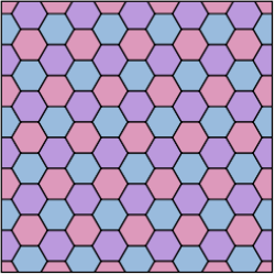 Tiling Regular 6-3 Hexagonal.svg