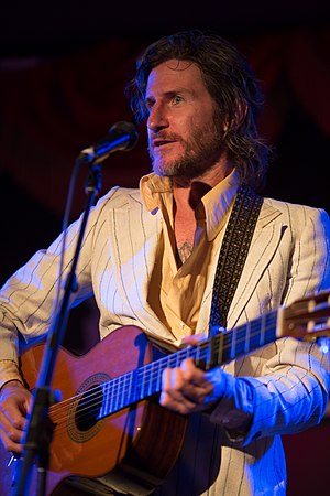 Tim Rogers (musician) - April, 2014