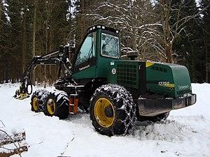 Timberjack - Harvester Timberjack 1270D