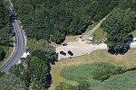 Tinye, Garancsi-tó. Az Üvegtigris forgatási helyszíne légifotón 3.jpg