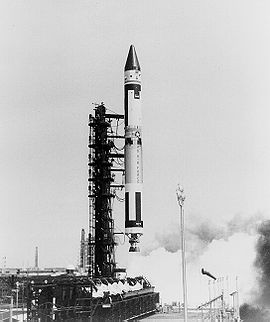 Launch of the first Titan IIIA