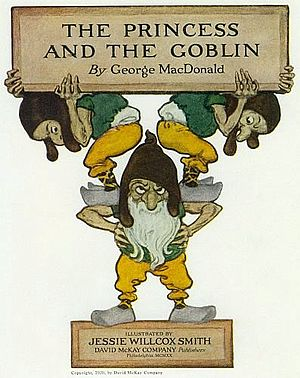 Goblin - From The Princess and the Goblin by George MacDonald, illustrated by Jessie Willcox Smith, 1920