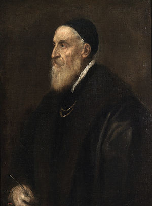 Titian - Self-Portrait, c. 1567; Museo del Prado, Madrid.