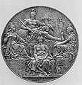 To commemorate the Congress held at Paris (1872–3) to regulate the adoption of the Metric System MET 30891.jpg