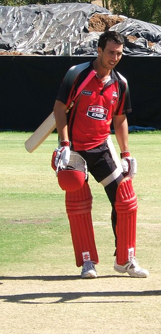 Tom Cooper (cricketer) - Tom Cooper training in February 2010