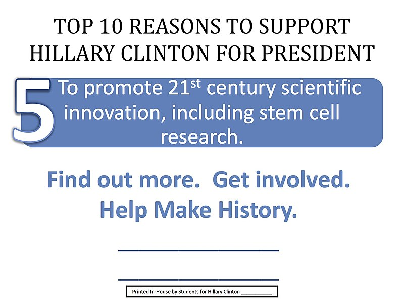File:Top 10 Reasons to support Hillary Cinton for President 05.jpg