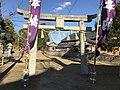 Torii of Nishikimachi Inari Shrine in Miyako, Miyako, Fukuoka 2.jpg