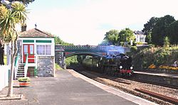 Torquay - 34046 up Torbay Express.JPG