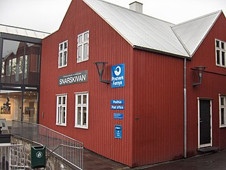 Postage stamps and postal history of the Faroe Islands - Post Office, Tórshavn