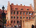 Toruń, Szkoła Przemysłowa, ob. Collegium Maius UMK, 1907; Fosa St. (Ola Z.).JPG