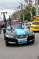 Tour de Romandie 2013 - Stage 5 - Team Sky's car.jpg