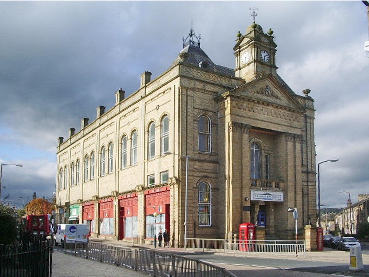 Town Hall, Elland - geograph.org.uk - 1005458.jpg
