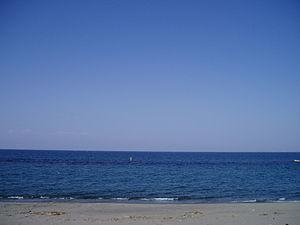 Toyama Bay - Toyama Bay from a beach in Toyama