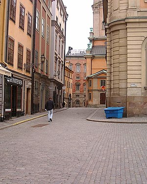 Trångsund, Stockholm - Viewed from Stortorget.