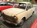 Trabnat 601 produced in 1972 on a parking lot in Kraków.jpg