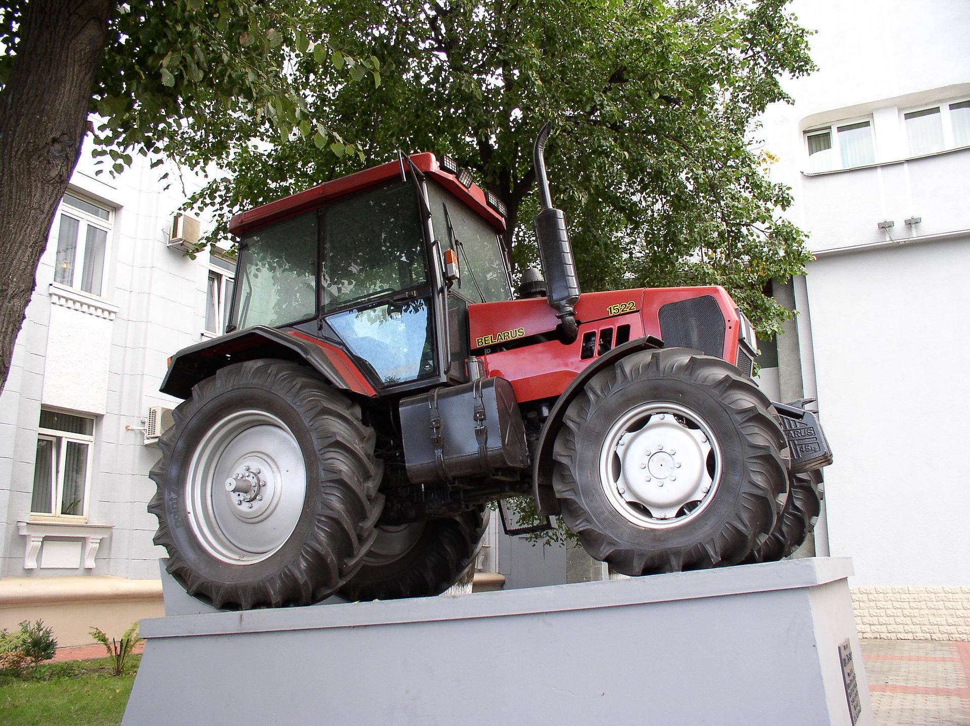 Fucking on a tractor
