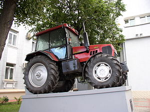 Agriculture in Belarus - A Belarusian-made tractor