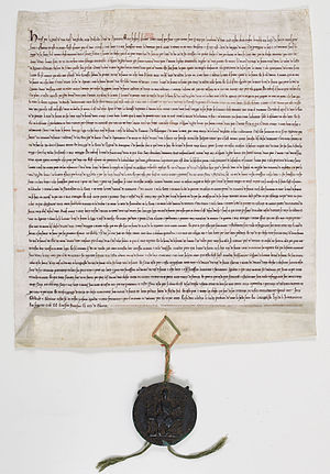 Treaty of Paris (1259) - Ratification of the Treaty of Paris by Henry III, 13 October 1259