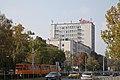 Tram in Sofia near Russian monument 083.jpg