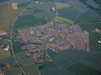 Tranent - Image: Tranent from the air (geograph 5837698)