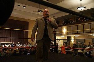 Keystone State Wrestling Alliance - Ring Announcer Trapper Tom at 2014 Fan Fest