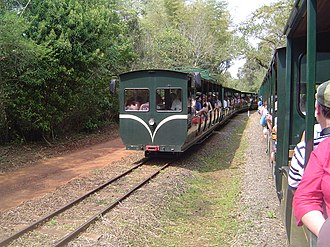 Iguazu Falls - Ecological train to Devil's Throat, Iguazú National Park, Argentina