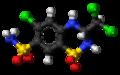 Trichlormethiazide-3D-balls.png