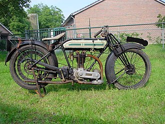 Triumph Engineering - 1924 Triumph Ricardo